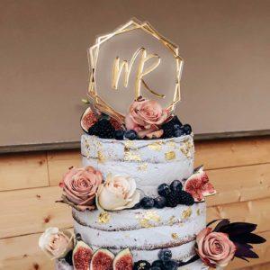 Caketopper; Frau Kopfkino; Tortenstecker; Love; Hochzeitsdekoration; Hochzeitstorte; Verlobung; Hochzeit; Liebe; Engagement; Cake topper; Topper; Torte; Tortendekoration; Gold; Rosegold; Roségold, Boho; Bohowedding, Acryl, transparent