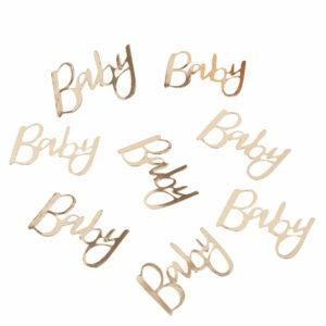 Frau Kopfkino; Boho; gold; goldene Dekoration; Babyparty; oh Baby; Babyparty; Schwanger; Babyshower; Dekoration Babyparty; Mommy to be;baby, Konfetti; Tischdeko; Babyshower; Baby Shower; Streudeko; Streudekoration